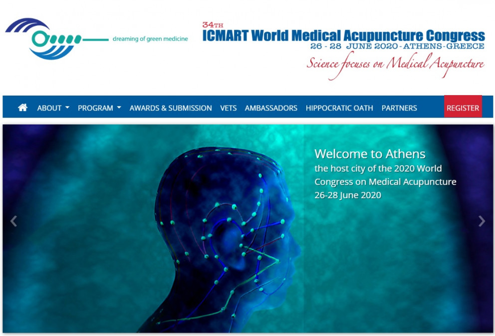 34th ICMART World Congress on Medical Acupuncture